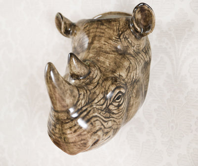 Big rhino wallvase