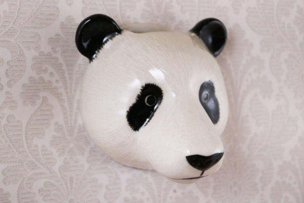 Small panda wallvase