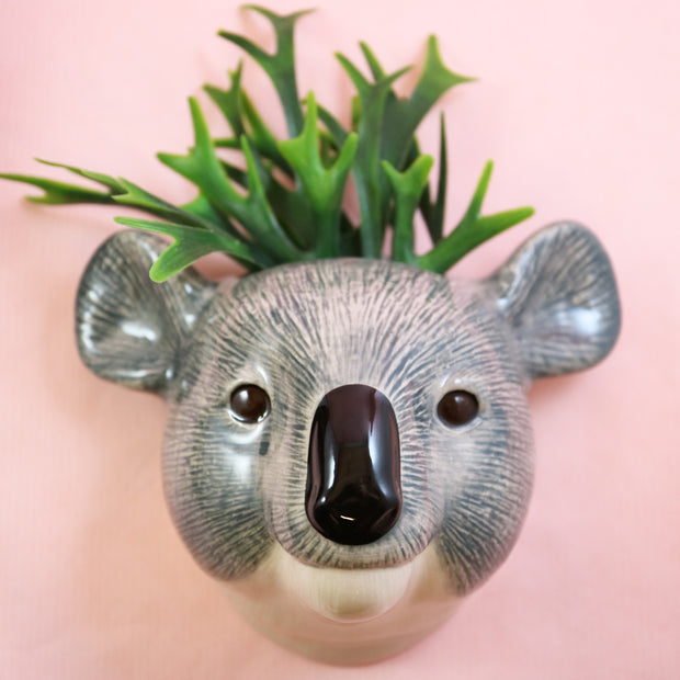Small koala wallvase