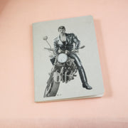 Tom of Finland mini notebook biker