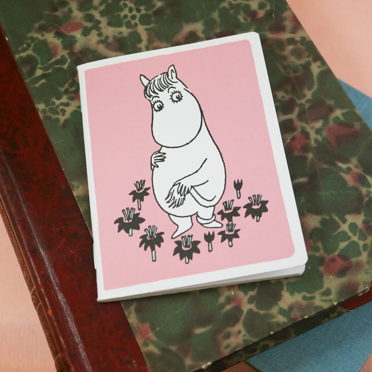 Moomin mini notebook Snorkfröken