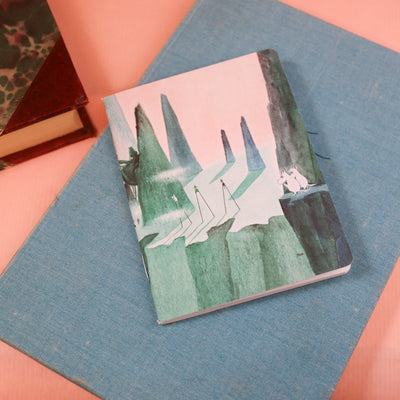 Moomin mini notebook Seafloor