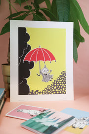 Moomin print Little My