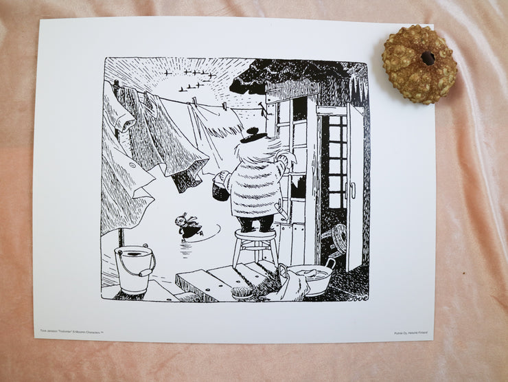 Moomin print Too-Ticky