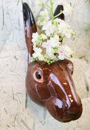 Big hare wallvase