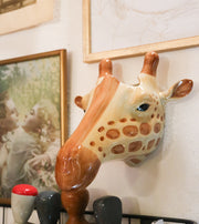 Big giraffe wallvase