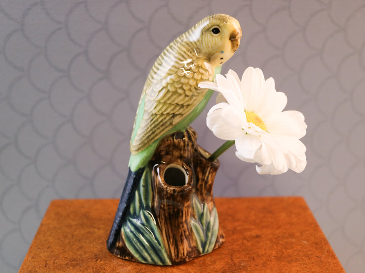 Budvase budgerigar green