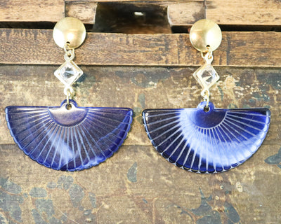 Marine fan earrings (Limited edition)