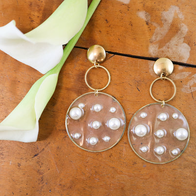 Captured pearl earrings (Limited edition)