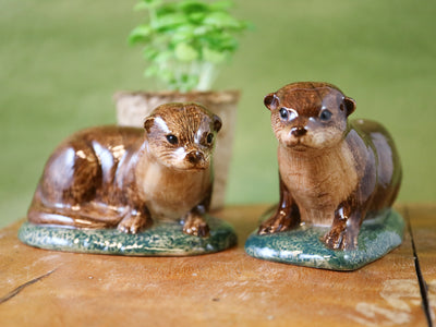 Otter salt and pepper shakers