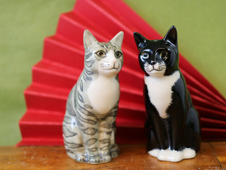 Sadie & Smartie cat salt and pepper shakers