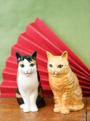 Eleanor & Vincent cat salt and pepper shakers
