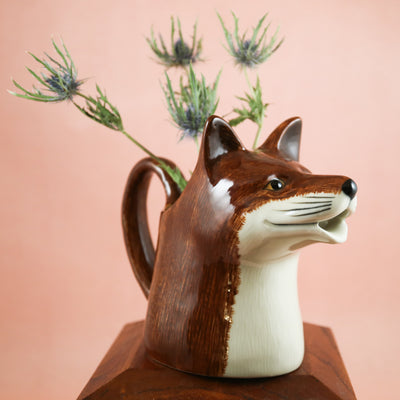 Large fox jug