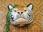 Big tiger wallvase