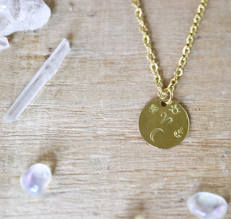 Aries zodiak necklace