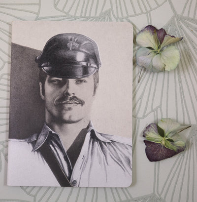 Tom of Finland mini notebook captain