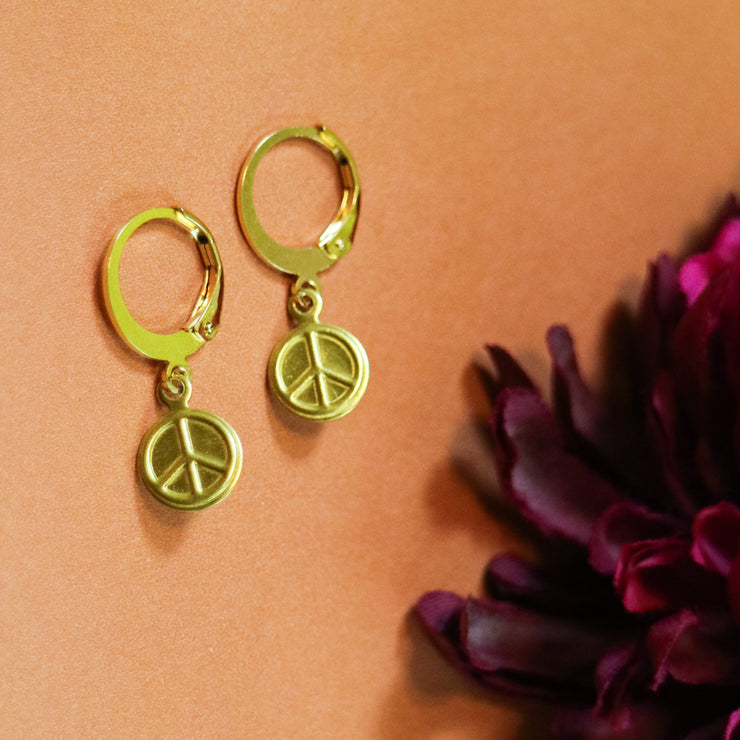 Peace mix & match earring