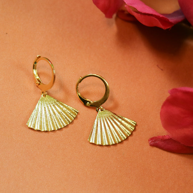 Fold mix & match earring