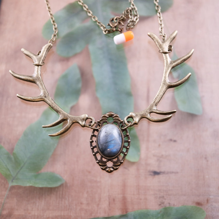 Labradorite Forest nymph necklace