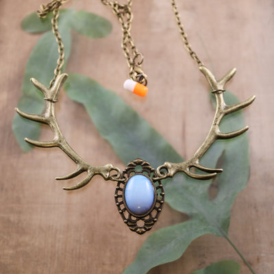 Opalite forest nymph necklace