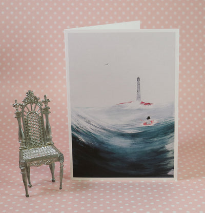 Moominpappa at sea greeting card