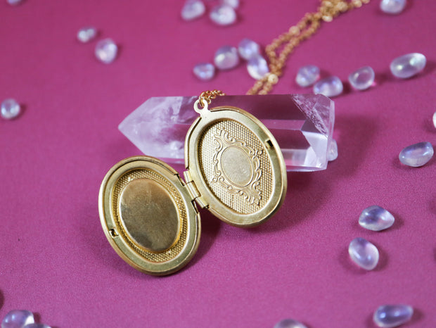 Tiger's eye locket necklace (Limited edition)