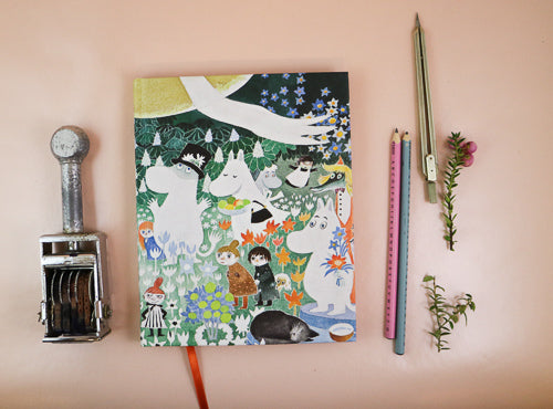 Moomin hard cover notebook Dangerous journey