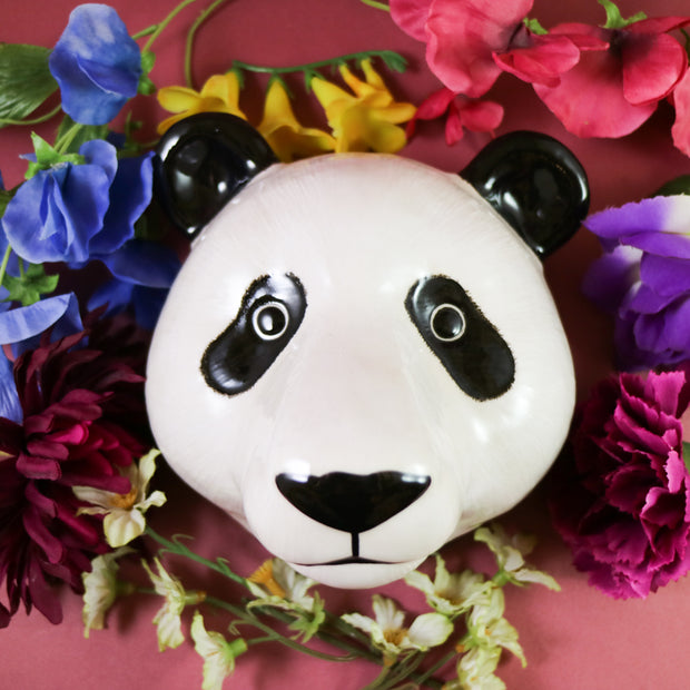 Big panda wallvase