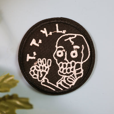 T.T.Y.L. iron on patch