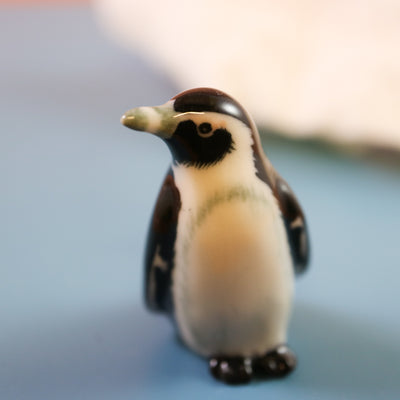 Miniature penguin figurine