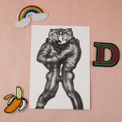 Tom of Finland mini print/card love