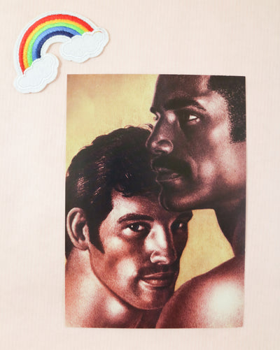 Tom of Finland mini print/card beautyface