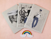 Tom of Finland mini notebook love