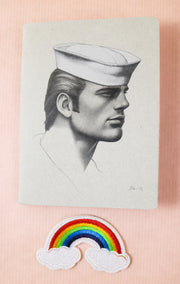 Tom of Finland mini notebook sailor