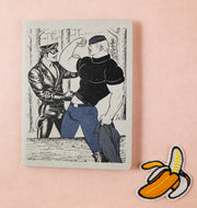 Tom of Finland mini notebook gunshow