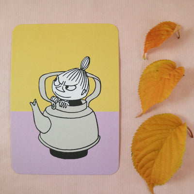Moomin Little My postcard/mini print