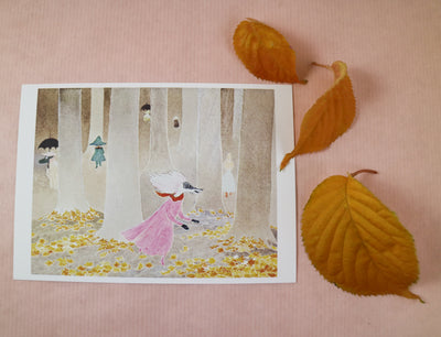 Moominvalley in November postcard/mini print