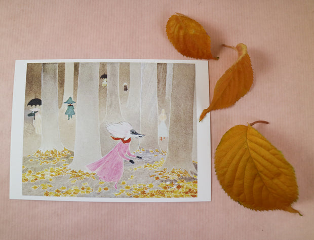 Moominvalley in November postcard