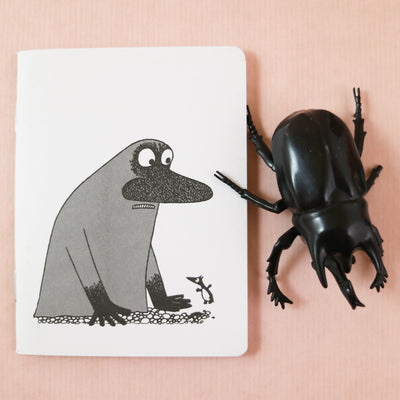 Moomin the Groke mini notebook
