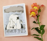 Moomin family mini notebook