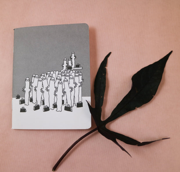 Moomin Hattifatteners mini notebook