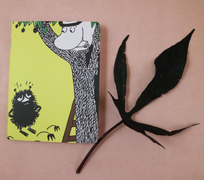 Moominpappa & Stinky mini notebook