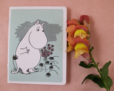 Moomin mini notebook mint