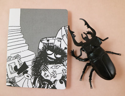 Moomin Stinky mini notebook