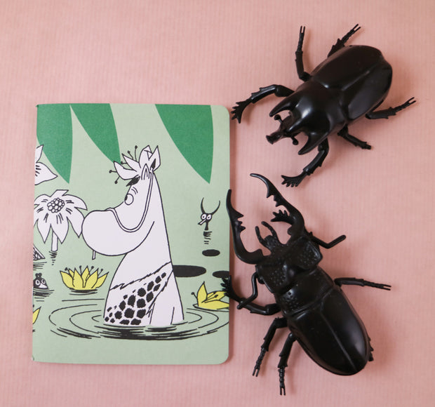 Moomin jungle flop mini notebook