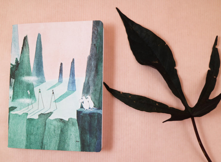 Moomin comet mini notebook
