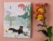 Moomin The magician's hat mini notebook