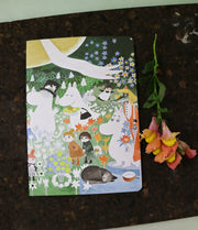 Moomin The dangerous journey notebook
