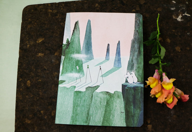 Moomin Comet notebook