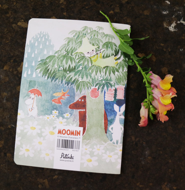 Moomin garden notebook